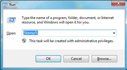 Clear Temporary Files On Windows 7 College Of Medicine